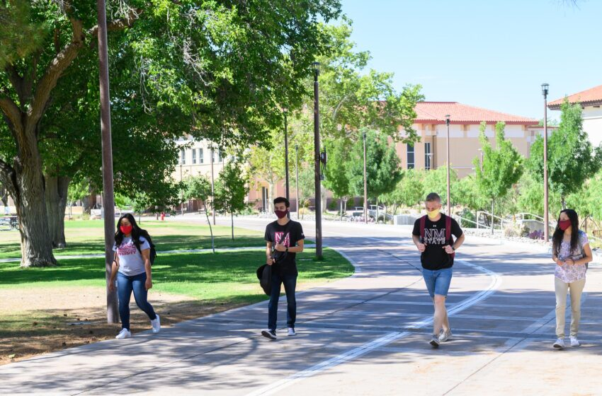 NMSU restricts access to some areas; masks, social distancing still required