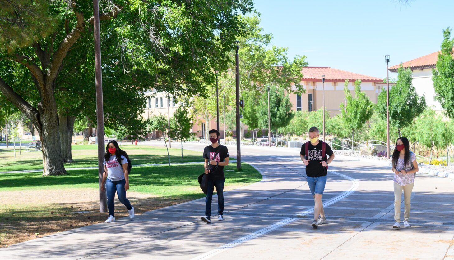 New Mexico State University is one of 16 institutions participating in the Association of Public and Land-grant Universities' Powered by Publics initiative to receive additional investment and support to advance student-centered transformation.      NMSU photo by Josh Bachman