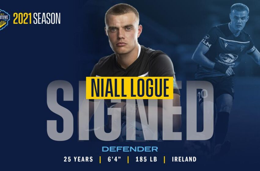 New Crewmember! Locomotive snags Niall Logue from FC Tucson