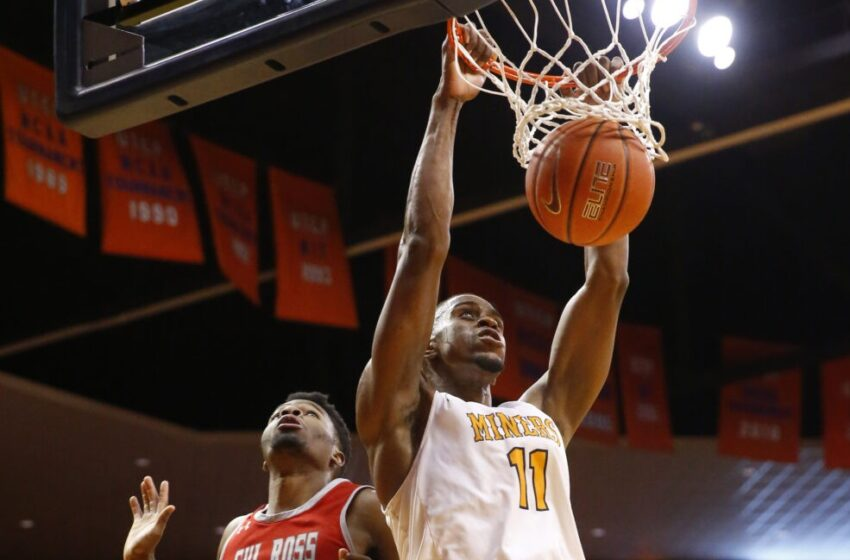 Gallery+Story: Miners stop Sul Ross 84-65