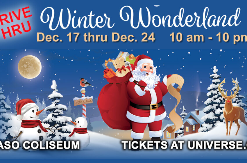 El Paso County Coliseum announces drive thru Winter Wonderland