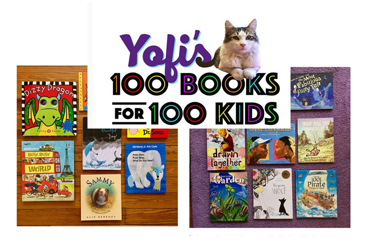 "Brave Books hosts ""Yofi's 100 books for 100 Kids Giveaway"""