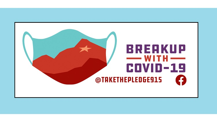 Group's 'Let's Breakup COVID-19 in El Paso, Texas—Take the Pledge' campaign continues