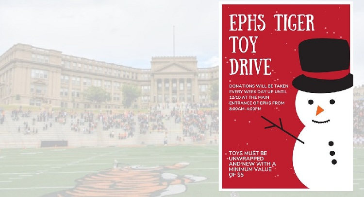 El Paso High continues traditions of holiday giving through the pandemic