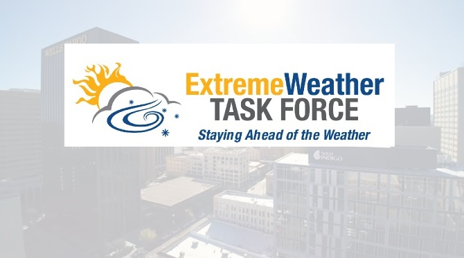 Extreme Weather Task Force, Riverside High StuCo drive-thru blanket drive set for Saturday