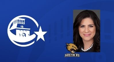 Texas Supreme Court Justice, Austin alumna Rebeca Huddle speaks to fellow Panthers