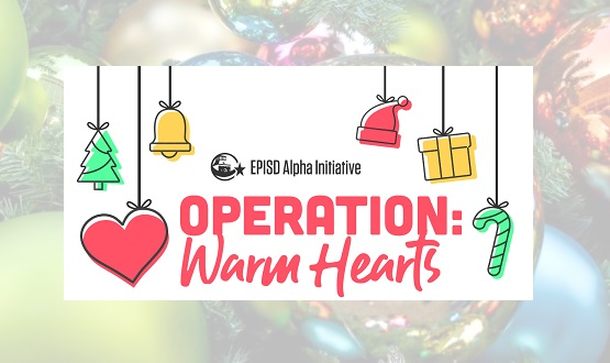 El Paso ISD's Alpha Initiative launches Operation: Warm Hearts