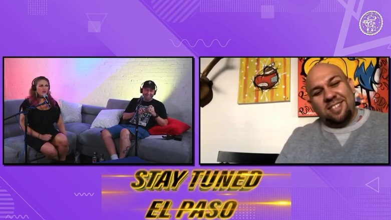 VLog: Stay Tuned El Paso with Vic & Priss: S.2/Ep.108 feat. Toy Shack's Johnny Jimenez