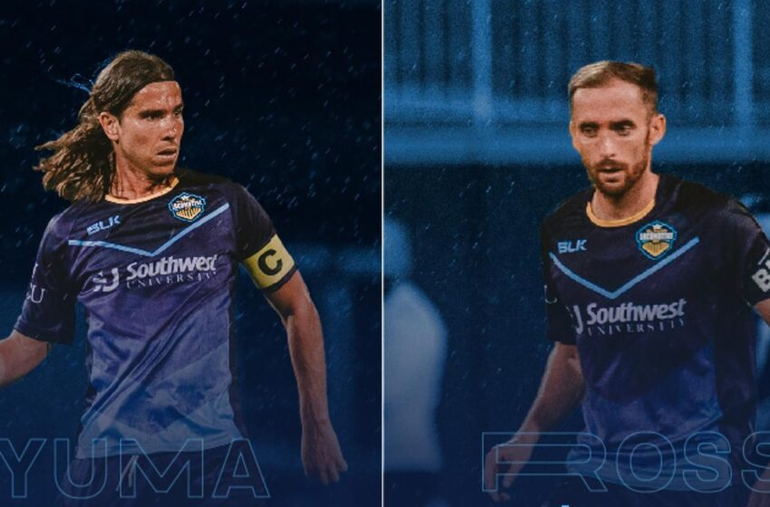 Midfielders Yuma, Nick Ross back aboard Locomotive for 2021