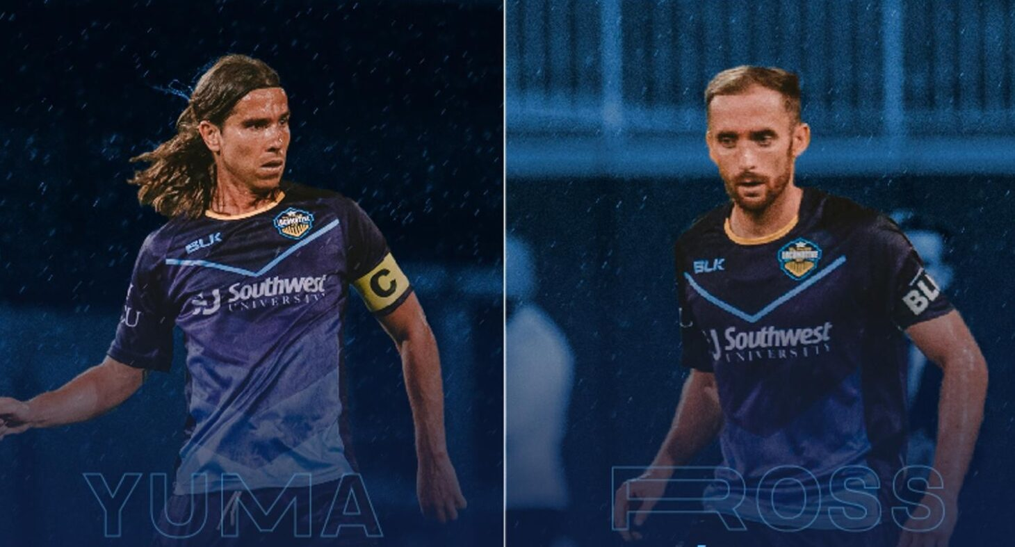 Midfielders Yuma and Nick Ross return for 2021 | Photos courtesy EP Locomotive FC