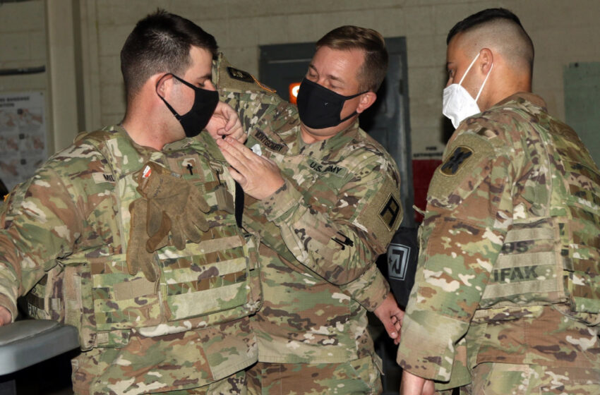 First Army partners with 256th IBCT during CTE at Fort Bliss