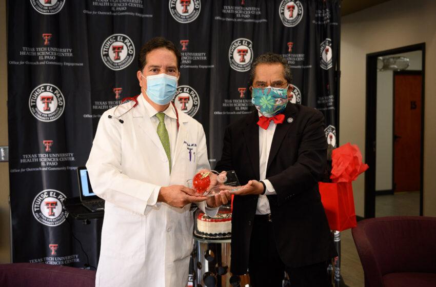 TTUHSC El Paso 2020 Community Faculty Physician of the Year Awards presented via surprise virtual ceremonies