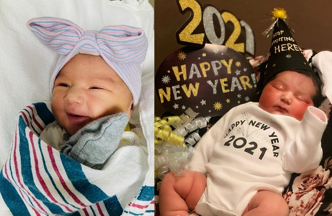 Gallery+Story: Hospitals celebrate first babies of 2021