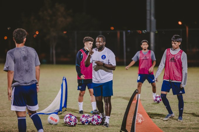 Locomotive Youth Soccer Club expands front office, adding Michael Balogun, Ana Guevara