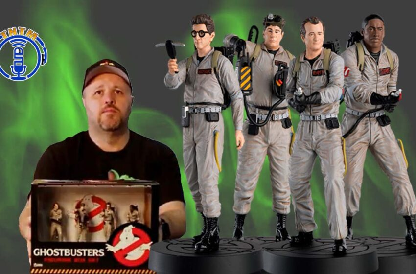 VLog: TNTM's Troy unboxes & reviews Ghostbusters Figure Set by Eaglemoss