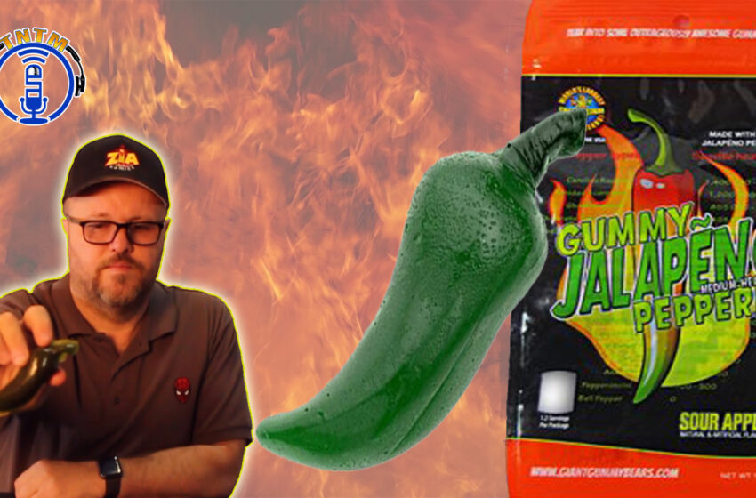 VLog: TNTM's Troy takes the Jalapeno Gummy Challenge