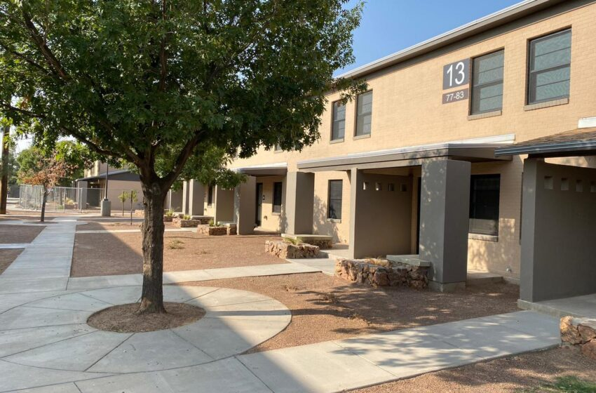 Sundt El Paso completes Sherman Housing renovations