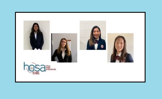 Four El Paso ISD students selected to serve as HOSA area officers