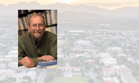 Jim Peach, Regents professor emeritus at New Mexico State University, will speak at the 10th annual Economic Outlook Conference Feb. 11. This year's conference will take place in a webinar format on Zoom. | NMSU photo by Darren Phillips