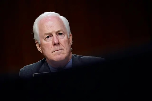 U.S. Sen. John Cornyn, R-Texas, during a Senate Judiciary Committee hearing on Capitol Hill in Washington D.C. in November of 2020. Credit: Walsh Susan/Pool via REUTERS
