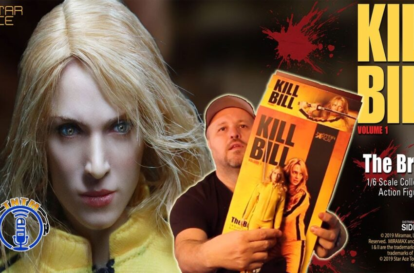 VLog: TNTM's Troy unboxes Kill Bill the Bride sixth scale figure by Star Ace