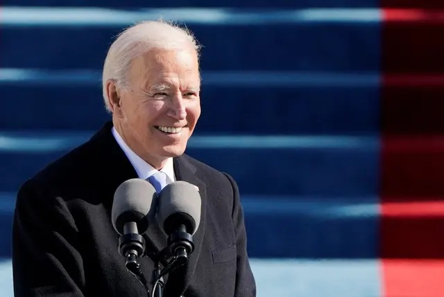 Joe Biden sworn in as the 46th president