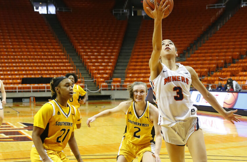 Gallery+Story: Miners sink Southern Miss 83-65 at the Don