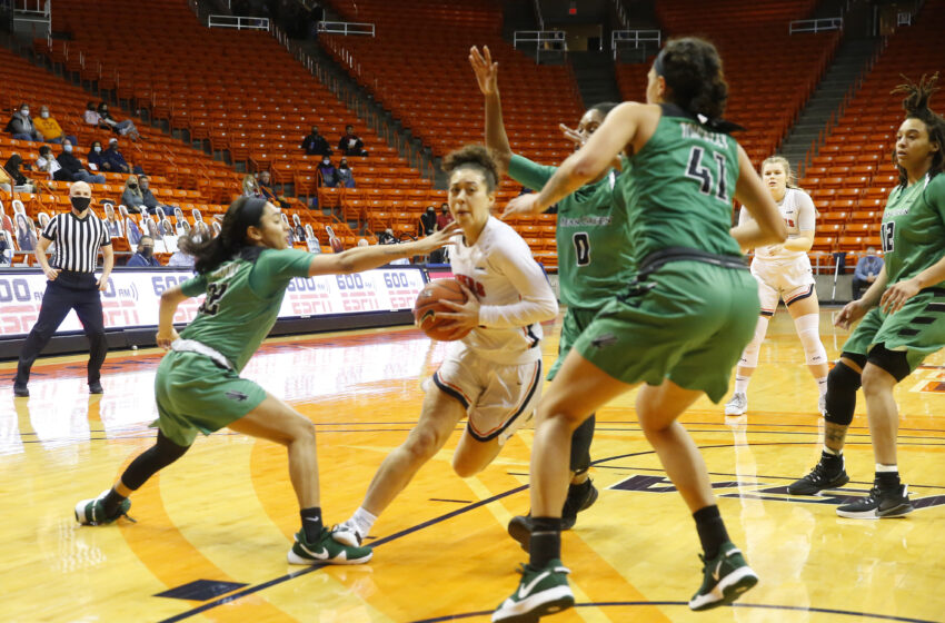 Gallery+Story: UTEP falls to North Texas 67-59