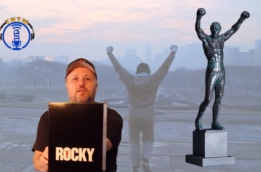 VLog: TNTM's Troy unboxes and reviews Rocky Balboa resin statue by Schomberg Studios