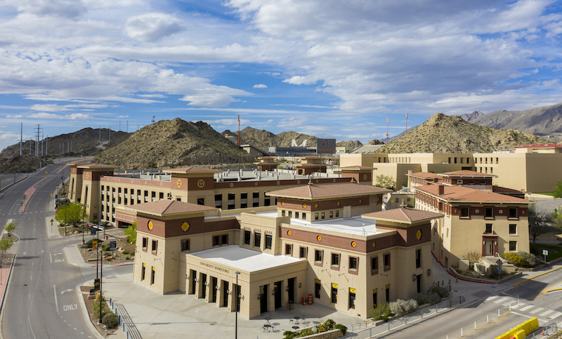 UTEP will continue to offer many of its on-campus services and resources to students and employees during the spring 2021 semester, even though many students and employees will work and take classes remotely. | Photo courtesy UTEP