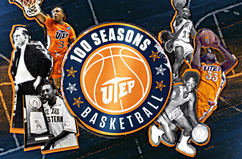 UTEP Celebrating 100 Seasons of Men's Basketball this Winter