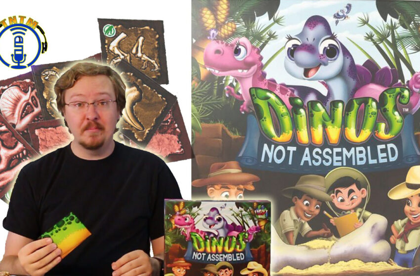 VLog: TNTM's Danny shows how to play Dinos Not Assembled by Thing 12 Games