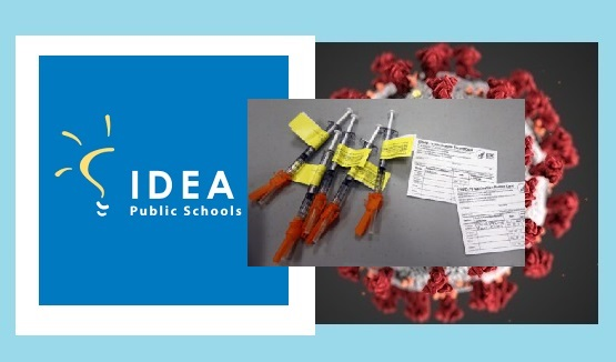 IDEA Public Schools to distribute 1st dose of Pfizer vaccine at vaccination clinic open to El Paso community
