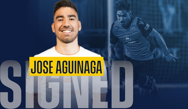 """I have always loved the Locomotive style of play and I think it fits with me really well,"" Jose Aguinaga"