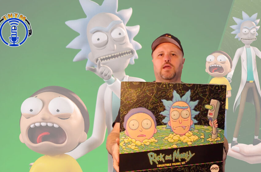 VLog: TNTM's Troy unboxes Rick and Morty Sixth Scale Figure Set by Mondo