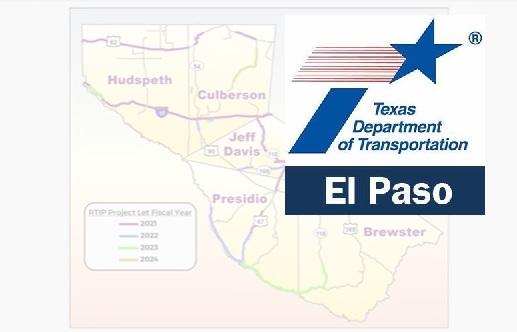 TxDOT El Paso: Comment period opens for 2021-24 Rural Transportation Improvement Program Revision