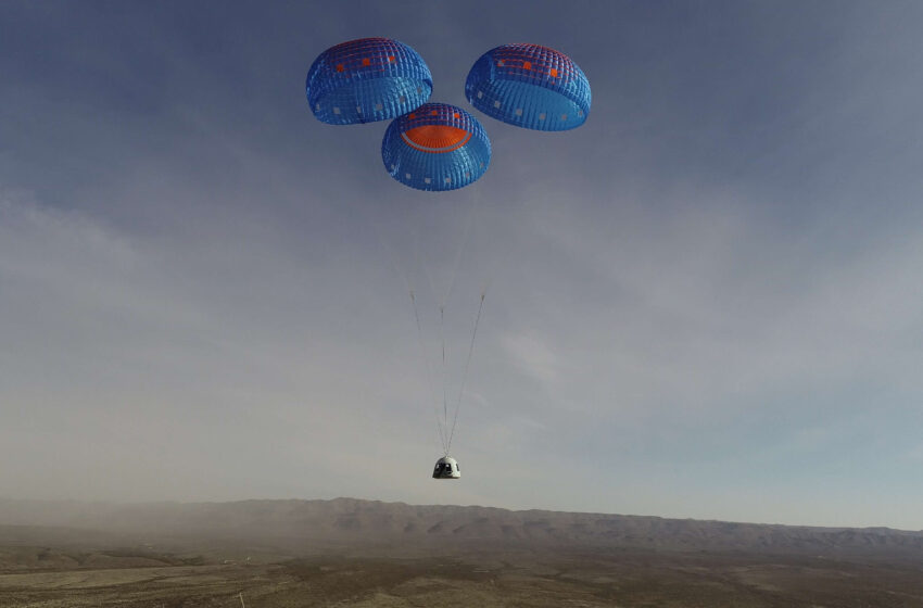 New Shepard mission results in successful demonstration of Crew Capsule Upgrades