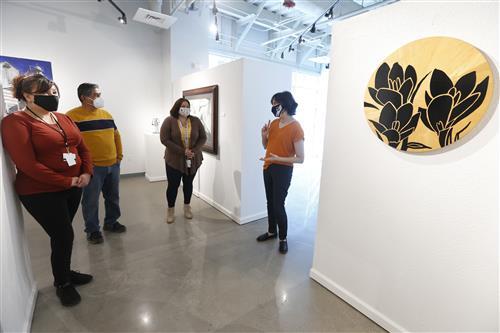 El Paso ISD fine arts gallery relocates to new administrative building