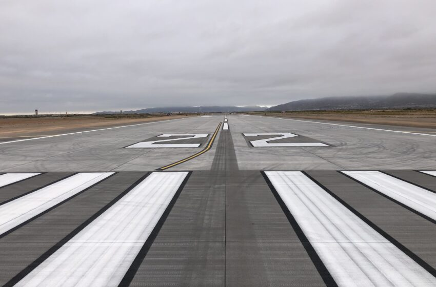 MRM/Sundt completes runway reconstruction at Biggs Army Airfield