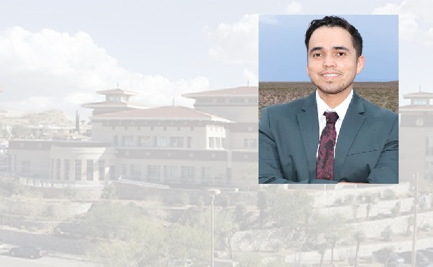 Daniel Carrera, a civil engineering graduate student at The University of Texas at El Paso, was named Young Engineer of the Year by the Texas Society of Professional Engineers El Paso Chapter in recognition of his technical ability, professional achievements and civic and humanitarian efforts.  | Photo courtesy UTEP