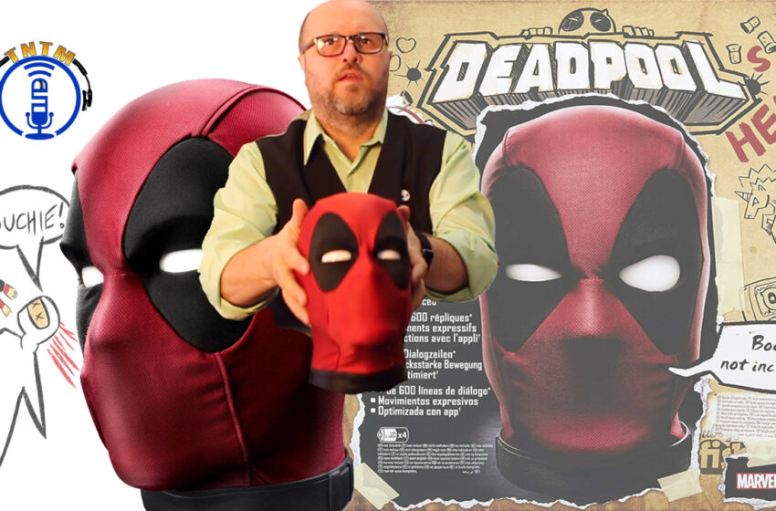 VLog: TNTM's Troy unboxes and reviews Deadpool's Head by Hasbro