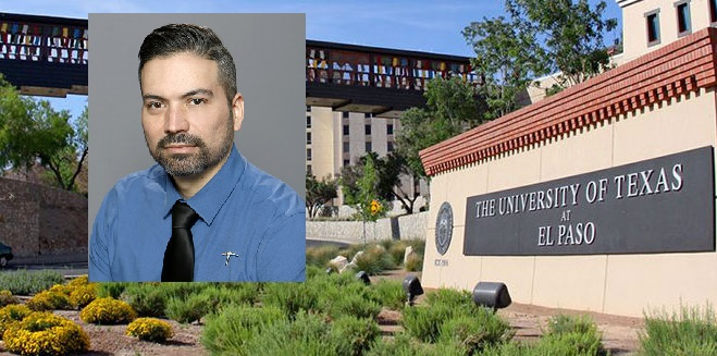 Sergio Iñiguez, Ph.D., associate professor of psychology at The University of Texas at El Paso  | Photos courtesy UTEP