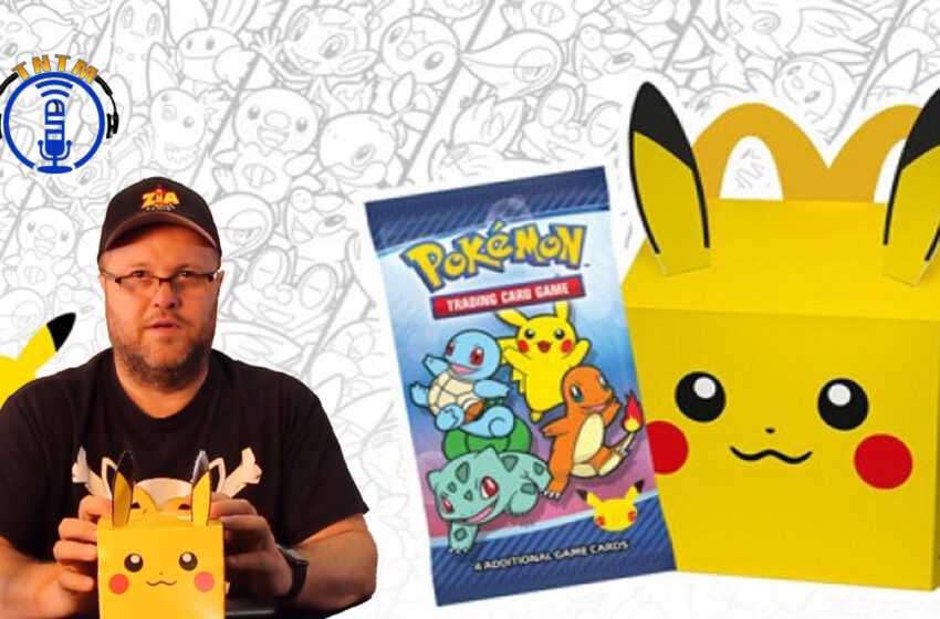 VLog: TNTM's McDonald's Pokemon Happy Meal unboxing and review