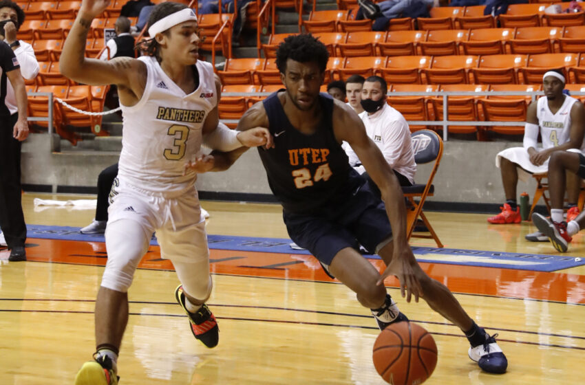 Gallery+Story: UTEP rallies to beat FIU 77-68, Completes 1st sweep of season