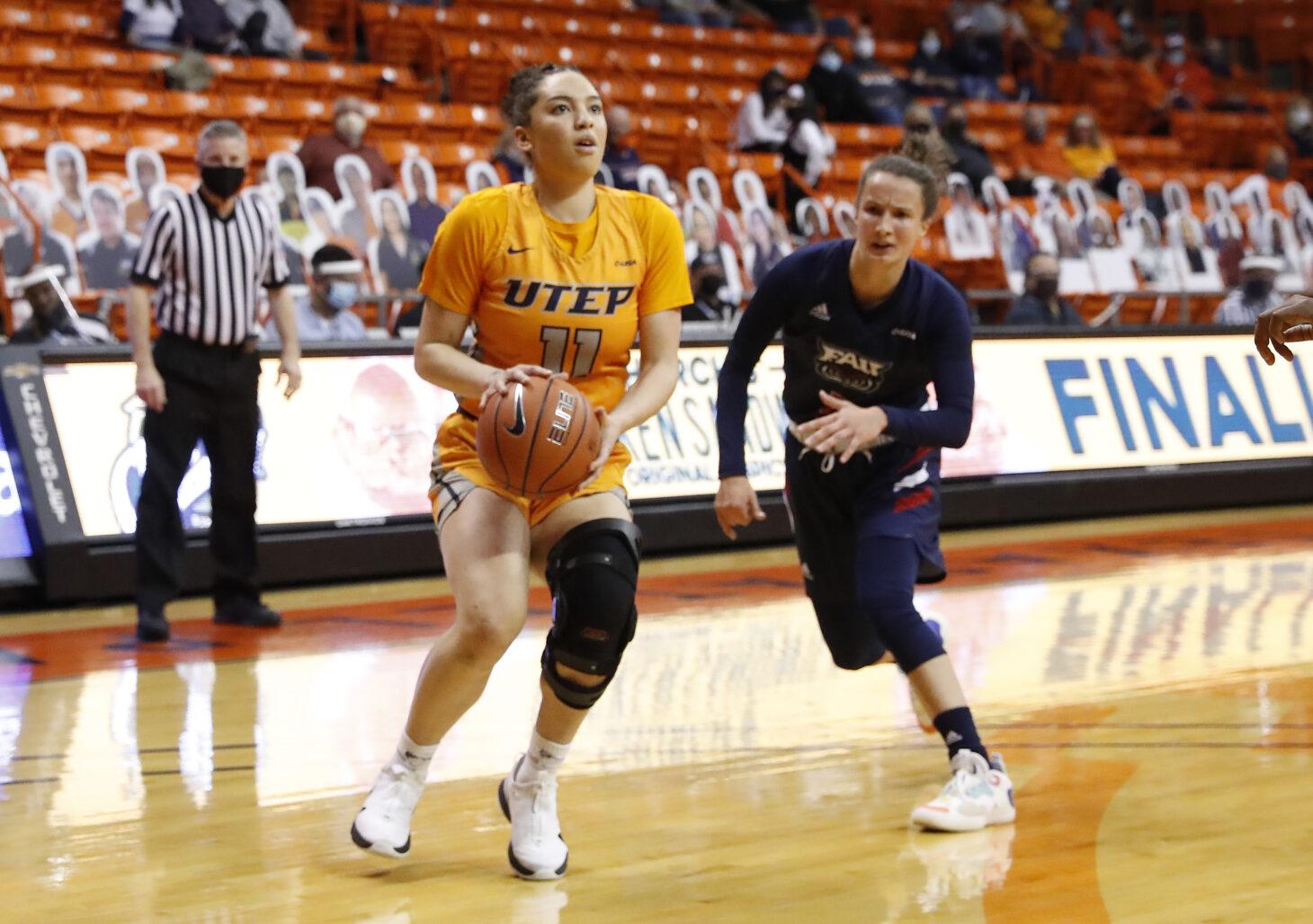 Isis Lopes | Photo by Ruben R. Ramirez/UTEP