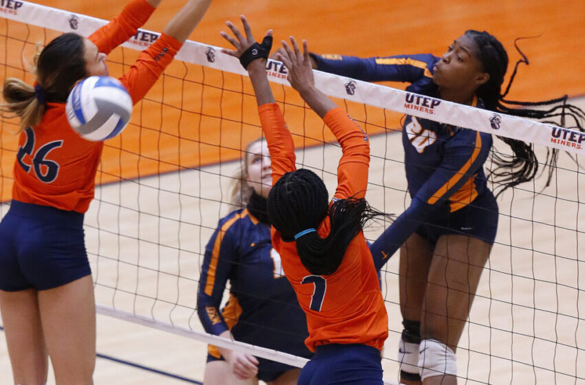 Gallery+Story: Miners sweep UTSA in straight sets