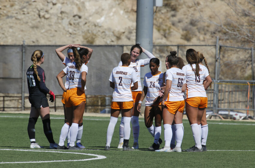 Miners roll out 2021 Soccer season schedule