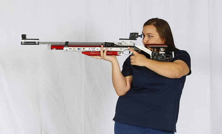 Rios leads UTEP in Air Rifle at Patriot Conference Championships