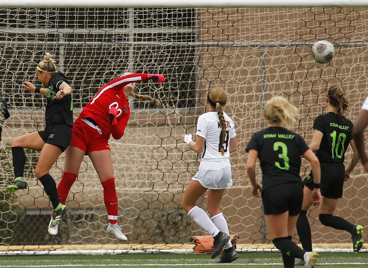 UTEP-UVU Play to Scoreless Draw; Miner goalkeeper Parrott keeps Wolverines at bay