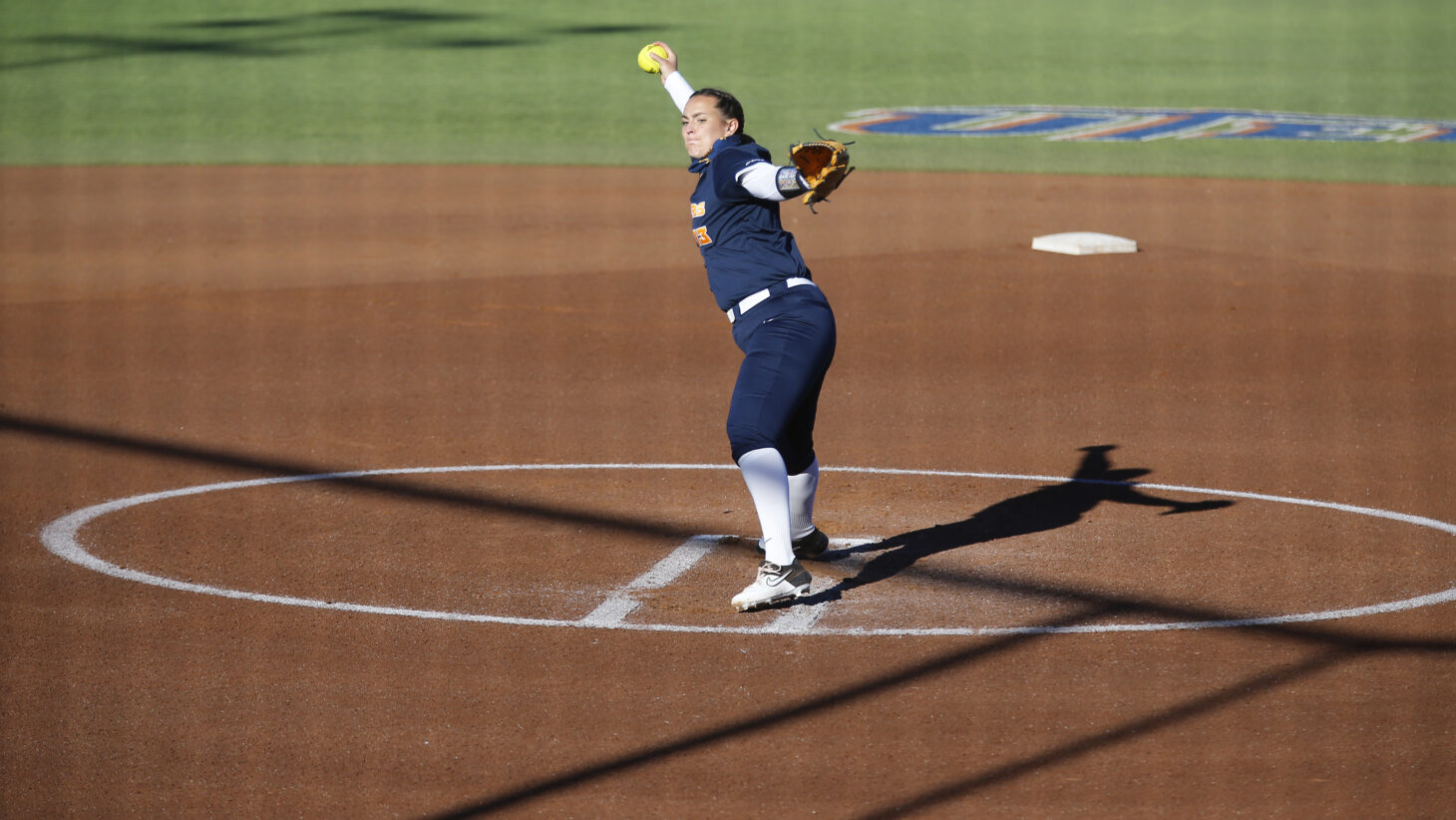 UTEP RHP Mackenzee Collins  | Photo by Ruben R. Ramirez